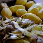 Mmh lecker! Kartoffeln aus dem eigenen Garten!