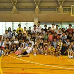 2010年 遊び塾[アスリートと遊ぼう!] 集合写真