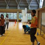 スポーツ鬼ごっこ普及を目指して研究中!大崎さんです!!