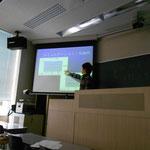 2011年度卒論発表 中西