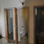 WCs und Dusche