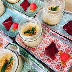 <html> Brauwerk Porter zu Bierparfait mit karamellisierten Walnüssen und Himbeergelee <br> © Alexandra Jarolim </br></html>