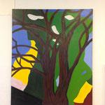 Lieselotte Radach, Acryl auf Leinwand, 100 x 120cm