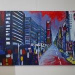 Nr. 39 Lieselotte Radach, Acryl auf Leinwand, 100 x 120cm