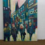 Nr. 13 Dietmar Krause, Acryl auf Leinwand, 100 x 120cm