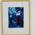 Nr. 57 Dietmar Krause Acryl auf Papier, 50 x 70cm gerahmt