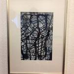 Dietmar Krause, Acryl auf Papier, 50 x 70cm incl. Rahmen