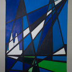 Nr. 16 Lieselotte Radach, Acryl auf Leinwand