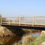 Pont à Cap sur le canal Vire et Taute