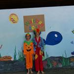 Kürbis und Clown