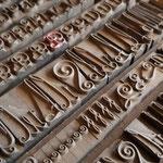 Zier- und Schwungbuchstaben von sehr schmal bis sehr breit