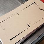 Die Außenform der Schachtel