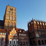 Rathaus und Nikolaikirche