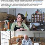Mein Willkommen in der Museumsdruckerei Hoya