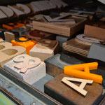 Woraus lassen sich Buchstaben herstellen, ...