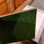 Das doppelseige Klebeband vorgeschnitten
