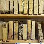 Holz braucht lange, bis es richtig getrocknet ...