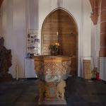 Hier soll Gutenberg getauft worden sein