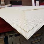 das aufgefächerte Papier