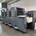 Eine moderne Heidelberger Printmaster