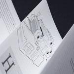 In jedem Buch ein Leporello mit Beschreibung der Produktion, Foto @p98a