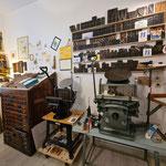 Einblicke in die Druckwerkstatt