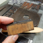 die hilfreiche Kennzeichnung an den Holzlettern