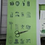 Mit dem grünen »Florpost« Papier beginnt morgen die Feinarbeit