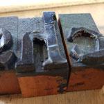 Durch häufiges Drucken werden Letter mit der Zeit unbrauchbar