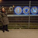 und mein Abschlussfoto am ZOB München