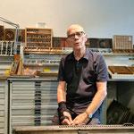 Erik erzählt von der Zeit in der Buchdruckerei, beim Tagesspiegel und der Berthold AG