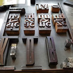 Die ersten Ideen für typografische Karten