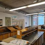 Die Arbeitsplätze in der Muthesius Kunsthochschule