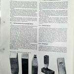 Beschreibung Stahlstempel und geprägte Matrize