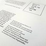 Gesetzt bei Willi Beck und gedruckt wird das Faltblatt auf meiner weiteren TypoWalz bei Conny Hügelschäffer