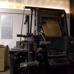 eine Linotype Baujahr 1967,