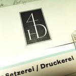 Markenzeichen Offizin Haag-Drugulin gedruckt