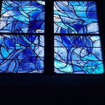 hier unten rechts, schlecht zu sehen, die Signatur Chagalls
