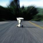 Toilett-Run I, Oakland California, 1990