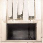 Toilett-Paper-Curtain, Bathroom,  Oakland 1990
