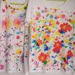 布用絵具で描いたTシャツ 2015