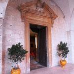 Ingresso Sala degli stemmi del Castello Episcopio di Grottaglie