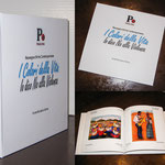 """Edizione deluxe con copertina cartonata del catalogo della mostra """"I Colori della Vita - IO dico NO alla violenza"""""""
