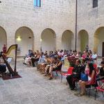 Mostra Personale al Convento di Pulsano durante la Presentazione della Campagna di sensibilizzazione contro la violenza sulle donne