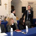Intervento del Sindaco di Pulsano Avv. Giuseppe Ecclesia (Foto di F. Paolo Occhinegro)