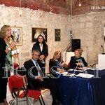 Intervento dell'Assessore alla cultura Prof.ssa Maria Pia Ettorre (Foto di F. Paolo Occhinegro)