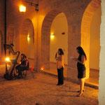 Mostra Personale al Convento di Pulsano durante la Presentazione della Campagna di sensibilizzazione contro la violenza sulle donn