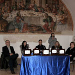 """Inaugurazione rassegna d'Arte """"I Colori della Vita - IO dico NO alla violenza"""" (Foto di F. Paolo Occhinegro)"""