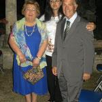 Anna Marinelli, Lucia La Sorsa ed il Prof. Giuseppe Santoiemma