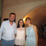 Col il Responsabile alla cultura del Comune di Pulsano Lino Libero e l'Assessore ai servizi sociali del Comune di Pulsano Gabriella Ficocelli
